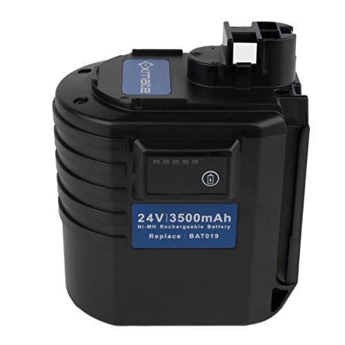 Exmate 24V 3.5Ah Bosch Batería GBH24VRE GBH24VFR