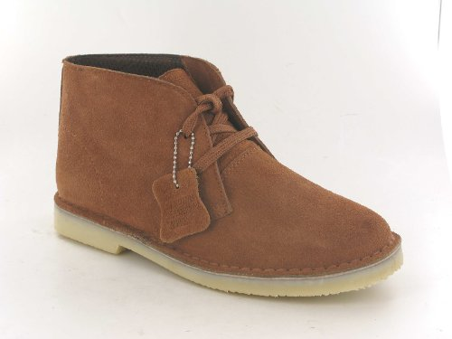MENS SUEDE LEATHER LACE UP DESERT HIGH QUALITY DESERT BOOT UK SIZES 6 7 8 9 10 11 (UK 7, TAUPE)