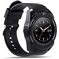 Anding Smartwatch ,Inteligente reloj Hombre Mujer Niños Reloj de Fitness para Tarjeta SIM con reloj