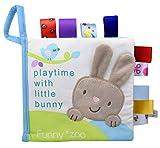 Die besten Bücher für Baby-Duschen - Xiaoyu weiches Gewebe Babytuch Bücher Früherziehung Spielzeug Aktivität Bewertungen