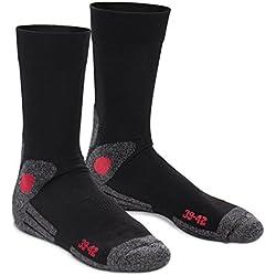 4 pares de calcetines para senderismo - Con suela de rizo - 39/42