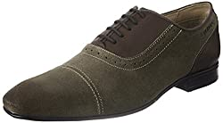 Ruosh Mens Yellow/Beige/Gold Leather Formal Shoes - 11 UK/India (45 EU)
