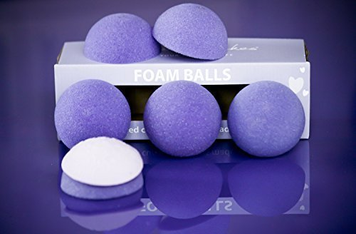 Foam Balls for Domed Cupcake Toppers (Box 6) by Purple Cupcakes