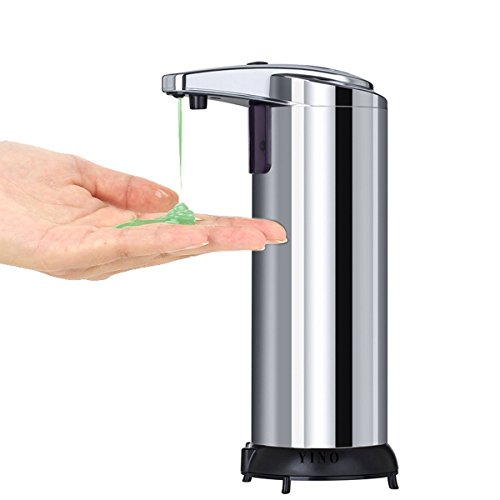 Dispensador de jabón automático de pie sin contacto, de Yino