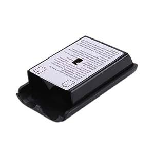 SODIAL (R) Vano batteria parte per Xbox 360 controller wireless nero
