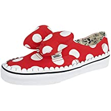 0b5fa6ed86 Vans Disney Authentic Gore Minnie s Bow Baskets Rouge