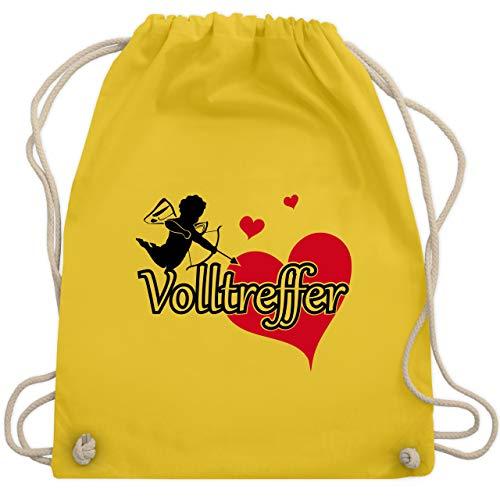 Cupid Kostüm Zubehör - JGA Junggesellinnenabschied - Volltreffer - Unisize - Gelb - WM110 - Turnbeutel & Gym Bag