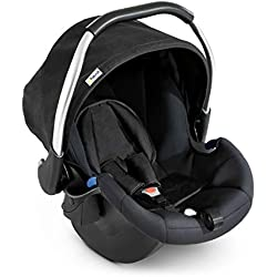 Hauck/Siège-Auto Comfort Fix/Ece Groupes 0 de La Naissance Jusqu'à 13 kg/Léger/Protection Latérale/Compatible avec la Base Isofix/Noir (Black)