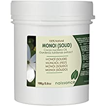 Monoi Sólido - Aceite Macerado 100% Puro - 100g
