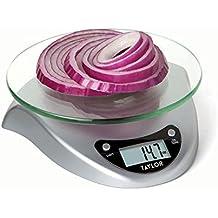 Taylor productos de precisión digital báscula de cocina con plataforma ...
