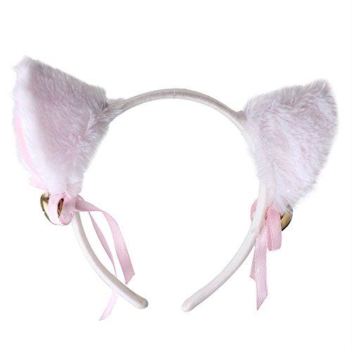 PinzhiCat Ohr Haare Cosplay Bügel Messen Messe Zubehör (Katze Ohr Haar Clips)