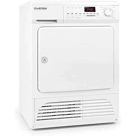 Klarstein Savanna Independiente Carga frontal 8kg B Color blanco - Secadora (Independiente, Carga frontal, Condensación, B, Color blanco,