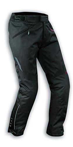 Damenhose Wasserdichte Motorrad Hose Thermal Abnehmbarer Polsterung Schwarz 28