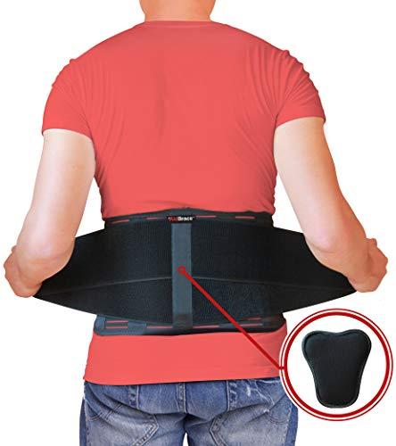 aidbrace faja cinturón de apoyo–ayuda a aliviar dolor de espalda baja, ciática, Escoliosis, hernia de disco o degenerativa Disco Enfermedad