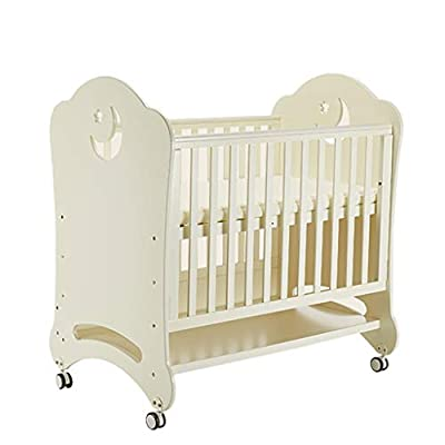 DUWEN-Cot bed Solid Wood Multifunctional Baby Cot European Toddler Bed Game Bed Sofa Bed Children's Bed