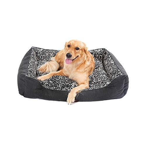 JXLBB Mittelgroße große Hund Samoyed Labrador Alaska Golden Retriever Hundehütte Herbst und Winter Modelle können gewaschen und gewaschen werden (größe : ()