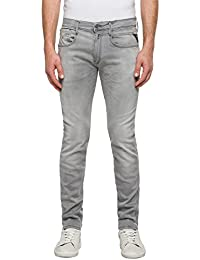 Replay Men's Anbass Hyperflex Slim Jeans