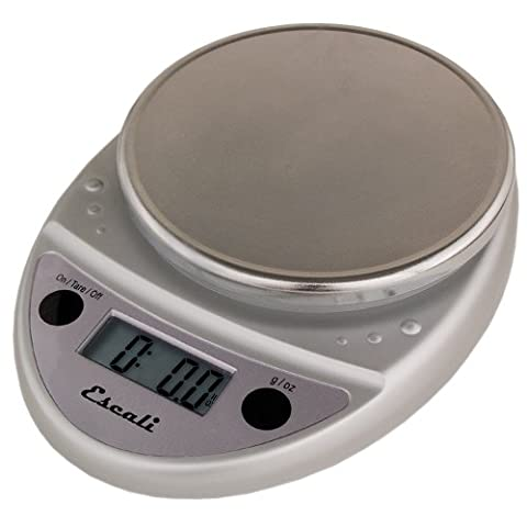 Balance Scale - Primo Digital Kitchen Scale 11Lb/5Kg, Chrome color