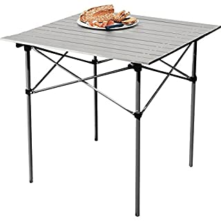 Arg Folding Camping Table with Slatted Top