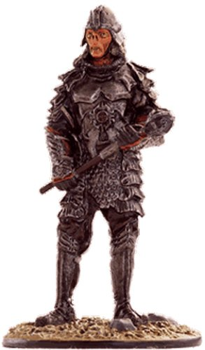 Lord of the Rings Señor de los Anillos Figurine Collection Nº 65 Orc Infantryman 1