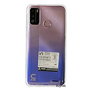 Amagav Back Case Cover Compatible for Micromax in 1b - Transparent