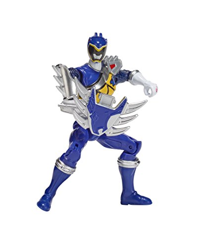 Power Rangers Dino Super Charge - 5 Dino Steel Blue Ranger Action Figure