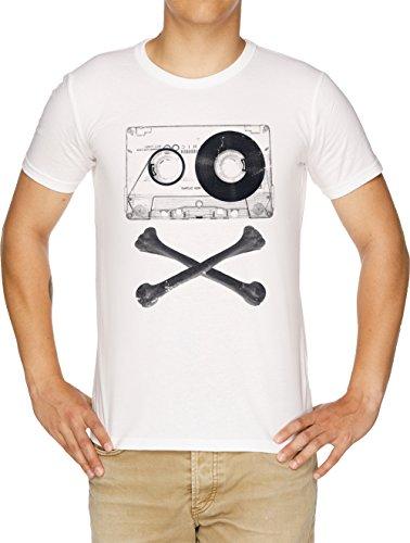 Vendax Pirata Música Camiseta Hombre Blanco