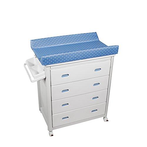 Plastimyr - Bañera cajones Blancos TOPOS Azul