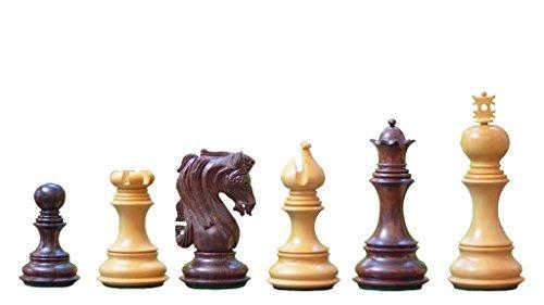 Chessbazaar der Admiral Serie Staunton Luxus Schachfiguren in Rose & Schachtel Wood