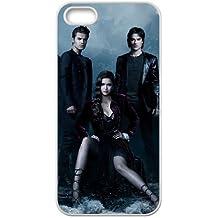 Vampire Diaries Saison M6G85R8NH coque iPhone 4 4s de couverture de cas coque 2HOYQY blanc