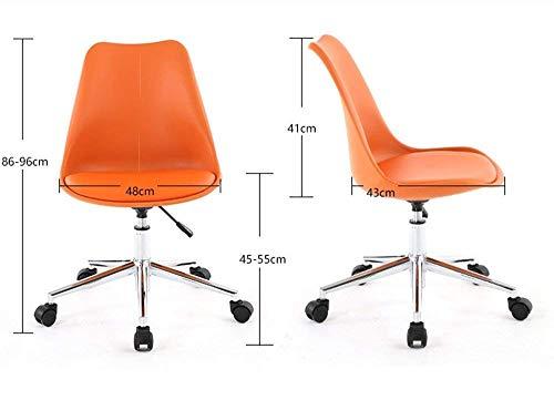 MJY Bequemer Stuhl Nordic Computer Stuhl Kleiner Bürostuhl Kleiner moderner Stuhl Einfacher Studentenstuhl (Computer Stuhl Kleine)