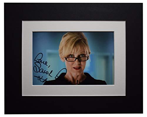 Sportagraphs Sarah Lancashire Signed Autograph 10x8 photo display Happy Valley TV AFTAL COA