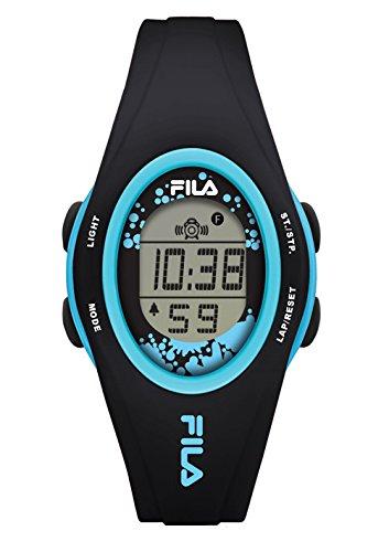 Fila-Bracciale unisex orologio digitale al quarzo 38-050-104FILA casual Nero Blu plastica