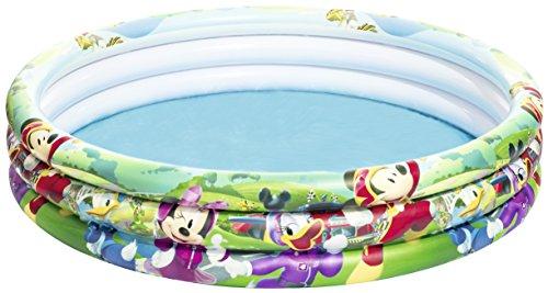 Bestway Mickey Mouse Planschbecken, 122 x 25 cm (Mickey Badespielzeug)