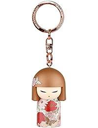 Porte clé Kokeshi Kimmidoll 5cm Aimi - amitié