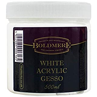 White Acrylic Gesso - 500ml