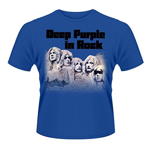Deep Purple In Rock oficial Camiseta para hombre (X-Large)