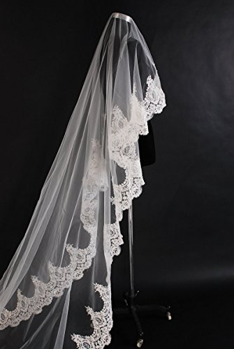 no1-3m-lang-1-spitze-kante-vintage-bridal-wedding-veil-ebenenstil-e