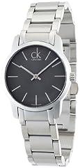 Idea Regalo - Calvin Klein K2G23161 - Orologio da polso donna, acciaio inox, colore: argento