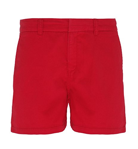 Asquith Fox - Short - Femme Rouge cerise
