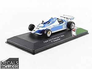 CMR CMR43F1008 - Coche en Miniatura, Color Azul y Blanco