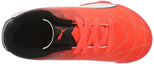 Puma Adreno Ii It Jr, Scarpe da Calcio Unisex – Bambini Rosso (Rot (Red blast-puma white-puma Black 09))