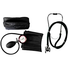 Tiga-Med - Esfigmomanómetro (1 manguito para brazo, estetoscopio rappaport de doble manguera
