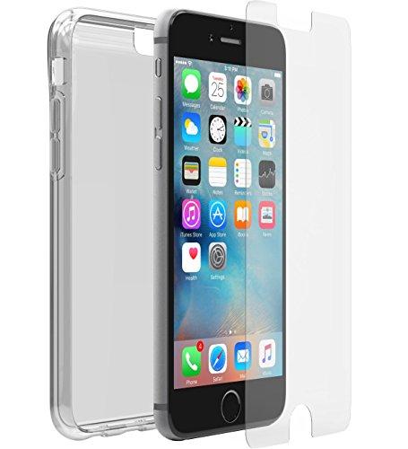 OtterBox clearly Protected Skin Bundle Extra Slim Silikon Schutzhülle + Alpha Glass Display Schutzglass, geeignet für Apple iPhone 6/6s (Skin 6 Iphone Otterbox-case)