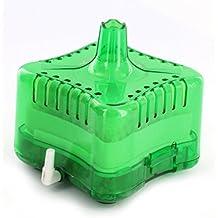 Acuario mecánico bioquímicos tanque de peces esquina Filtro Bomba de oxígeno verde