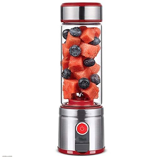 BHDYHM USB Portable Juicer Cup Blender, Mini Juice Mixer Blades, Fruchtmischmaschine mit leistungsstarkem Motor (Mini Blender-cup)