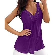 BOBOLover Camiseta para Mujer Manga Corta Camisetas Originales Ropa de Mujer Blusas Encaje Mujer Tops Lencero
