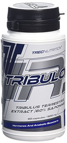 Trec Nutrition Tribulon 60 Caps Testosteron BOOSTER- Enhancer Tribulon - Pure, concentrated Tribulus terrestris extract 60{84c8ce48324e8d004215e5e3337a255a8af742b0454b5cd8c373738eccce7b9c} steroidal saponins HIGHER MUSCLE MASS AND FASTER REGENERATION