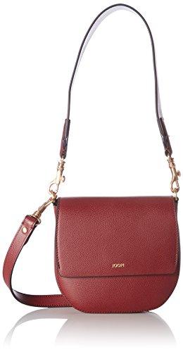 JOOP - Grano Colorblocking Rhea Shoulderbag Shf, Borsa a spalla Donna Rot (Dark Red)