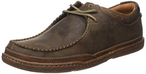 ClarksTrapell Pace - Stivali uomo Marrone (Dark Brown Lea)